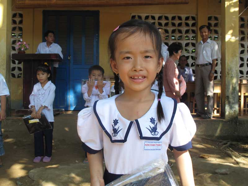 My Phuong back in school