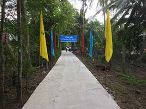 Preparations for dedication ceremony